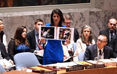 РФ відхилила рішення ООН щодо хіматаки в Сирії