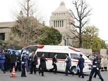 Японец застрелился перед зданием парламента