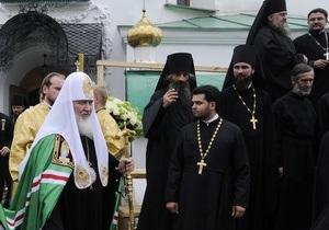 В Запорожской прокуратуре не связывают взрыв в храме с визитом патриарха Кирилла