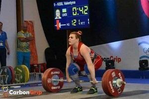 Українка завоювала срібло чемпіонату Європи з важкої атлетики