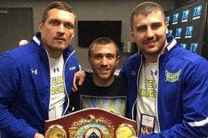 Порошенко привітав українське тріо з перемогою