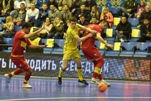 Футзал: Украина добыла непростую победу над Черногорией