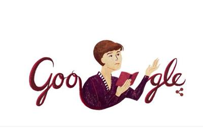 Белла Ахмадулина: Google doodle