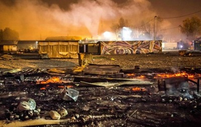 У Франції після заворушень згорів табір біженців, є постраждалі