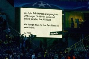 УЄФА відмовив Монако в перенесенні матчу з Боруссією