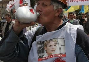 Тимошенко объявила голодовку - защитник