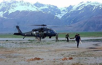 В Турции разбился полицейский вертолет