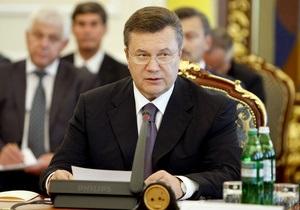 Янукович раскритиковал темпы реформ в экономической сфере