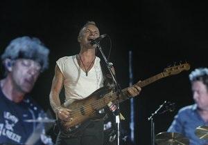 ЗН: Стинг лично отобрал украинских музыкантов для совместного концерта