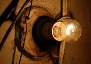 На 13-ти участках в Ивано-Франковской и Одесской областях около часа не было электричества