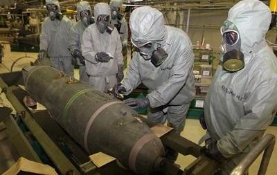 Россия отчиталась об уничтожении химоружия