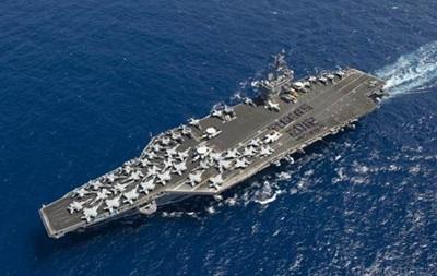 КНДР погрожує потопити авіаносець  Карл Вінсон
