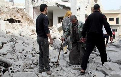 У результаті авіанальоту в Сирії зруйнована лікарня