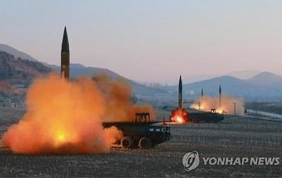 КНДР запустила балістичну ракету