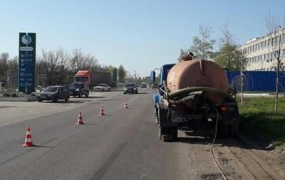 Мэр города Дергачи погиб под колесами грузовика