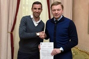 Шахтар продовжив контракт з Даріо Срною