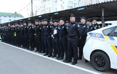 Порядок в Одесі охороняють три тисячі поліцейських