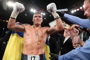Усик очолив рейтинг боксерів-важкоатлетів за версією The Ring