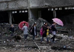 В секторе Газа ущерб от операции Облачный столп превысил $1,2 млрд