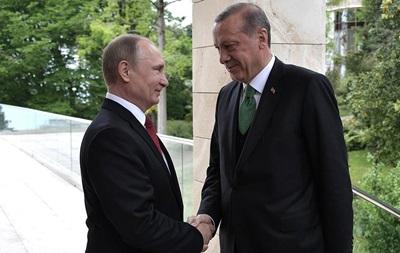 Путін сказав про відновлення відносин з Туреччиною