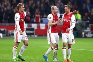 Аякс розгромив Ліон у першому матчі 1/2 фіналу Ліги Європи