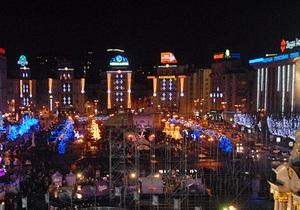 Центр Киева украсят новогодней символикой до 10 декабря
