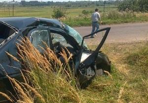 Во Львовской области автомобиль столкнулся с поездом, есть пострадавшие