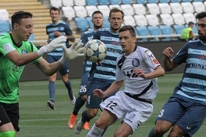 УПЛ: Олимпик минимально обыграл Черноморец и вышел на четвертое место