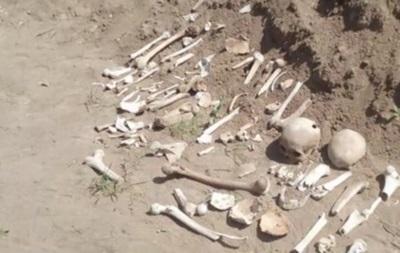 У центрі Полтави виявили масове поховання