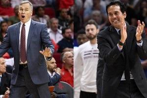 Споельстра і Д Aнтоні - найкращі тренери сезону