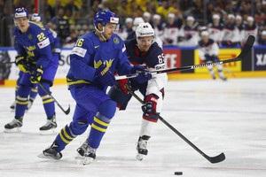 США - Швеція 4:3 відео шайб і огляд матчу ЧС-2017 з хокею