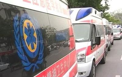 ДТП з автобусом у Китаї: загинули 11 дітей