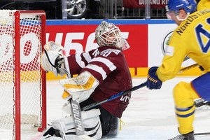 Швеция - Латвия 2:0 видео шайб и обзор матча
