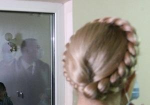 Врачи намерены к концу недели вывести Тимошенко из голодовки
