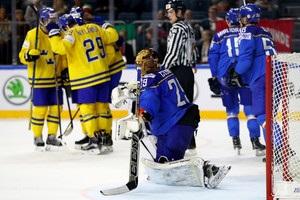 Швеція - Італія (8:1). Відео шайб і огляд матчу
