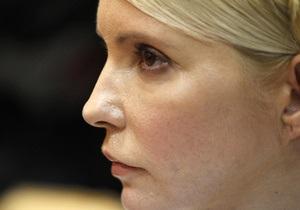 Начальник Качановской колонии заверил, что Тимошенко продолжает получать процедуры