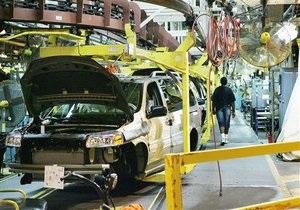Производство легковых автомобилей в Украине рухнуло почти на 20%