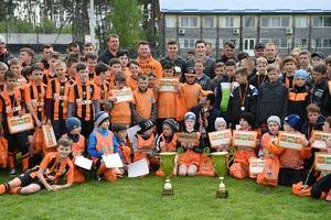 Львів яни виграли дитячий турнір, організований Шахтарем