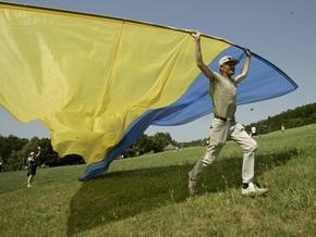В центре Киева установят самый большой флаг Украины