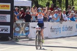 Українська велогонщиця Біломоїна виграла гонку в Австрії