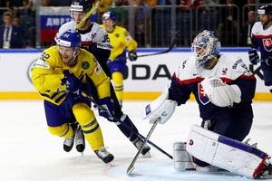 ЧС-2017: Швеція обіграла Словаччину, Норвегія поступилася Білорусі