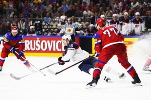 Росія – США 3:5. Відео шайб та огляд матчу ЧС-2017 з хокею
