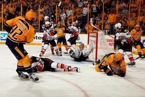 НХЛ: Нэшвилл оказался сильнее Анахайма в третьем матче финала Запада