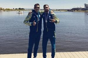 Украинские гребцы собрали полный комплект медалей на этапе Кубка мира