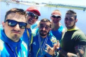 Украинские гребцы выиграли десять медалей на Кубке мира в Португалии