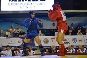 Україна виграла 16 медалей на чемпіонаті Європи із самбо