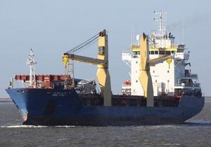 МИД: Зафрахтованное Украиной судно не перевозило оружие в Сирию