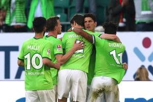 Вольфсбург виграв перший матч за право залишитися в Бундеслізі