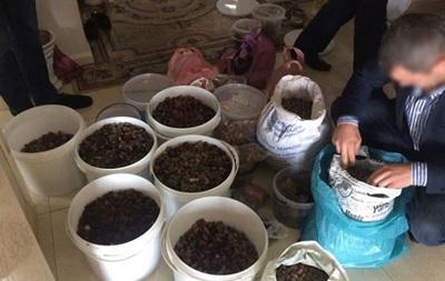 У Рівненській області вилучили бурштин на 2 млн грн