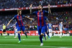 Барселона виграла Кубок Іспанії в третій раз поспіль